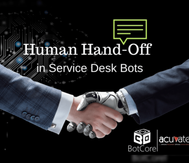 Human Hand Off