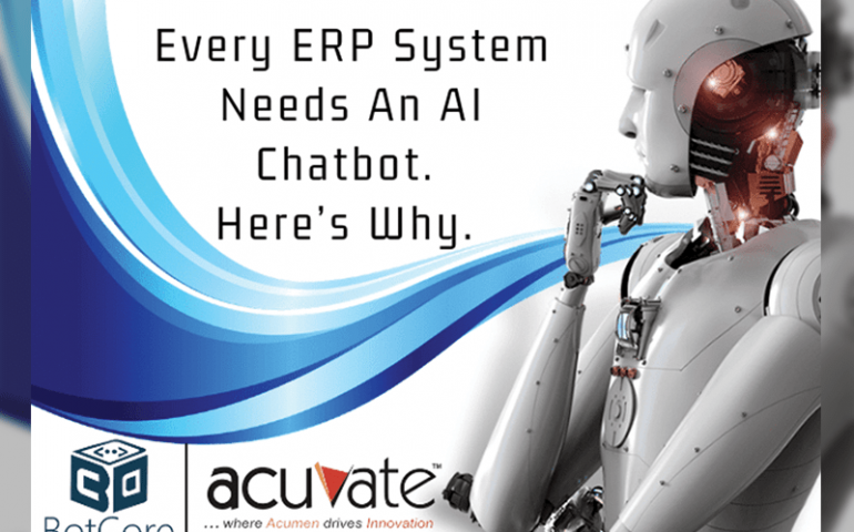 Every Erp System Needs An Ai Chatbot