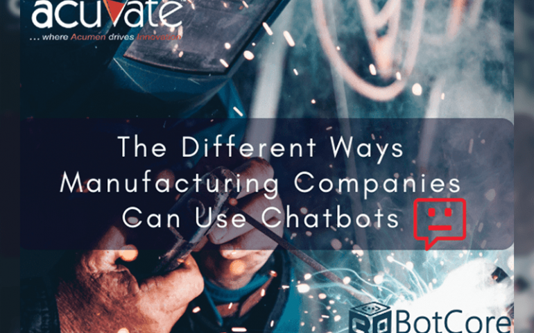 Different Ways Manufacturing Companies Can Use Chatbots 1