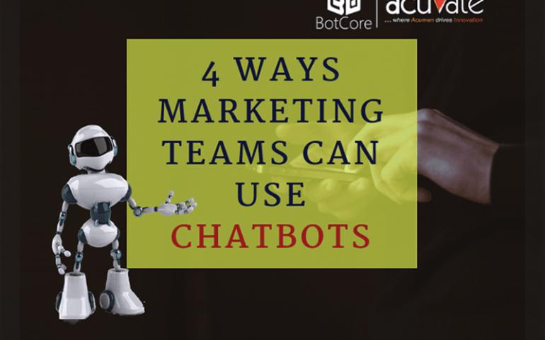 4 Ways Marketing Teams Can Use Chatbots Blog Image 1