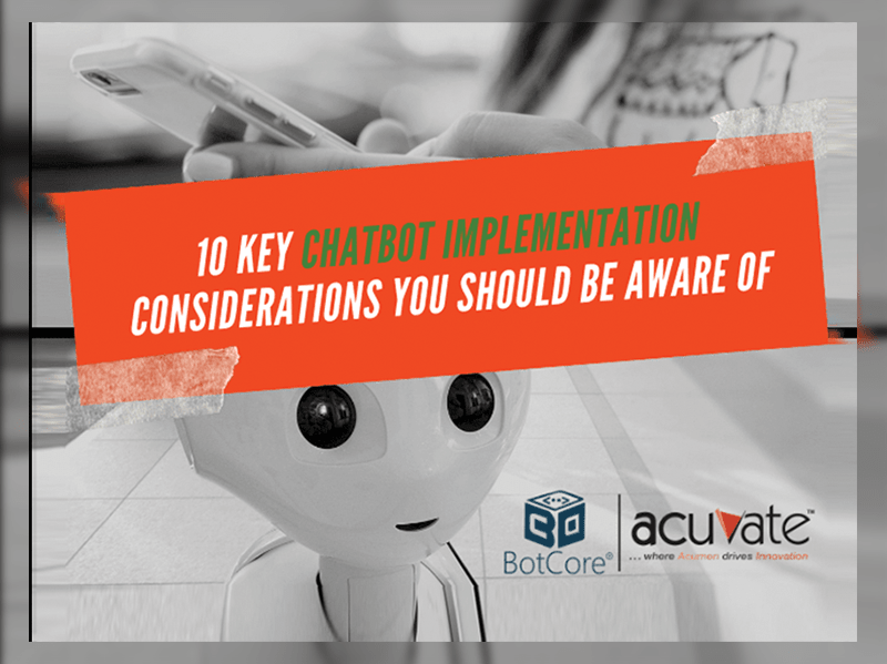 10 Key Chatbot Implementation Considerations You Should Be Aware Of Blog Image (1)