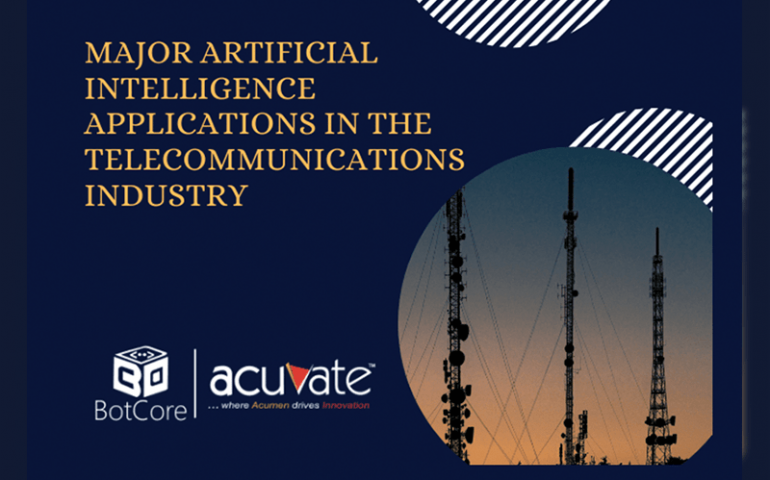 Major Artificial Intelligence Applications In The Telecommunications Industry Blog Image