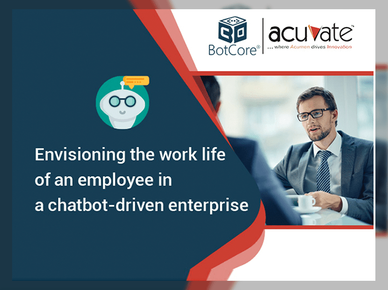 Envisioning The Work Life Of An Employee In A Chatbot Driven Enterprise