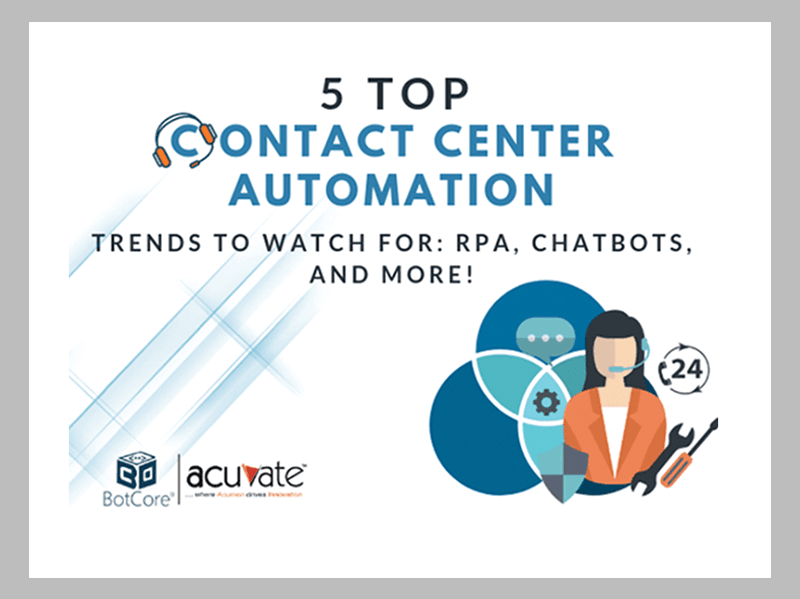 Contact Center Automation 1
