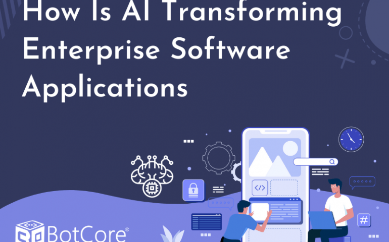 How Is Ai Transforming Enterprise Software Applications V1