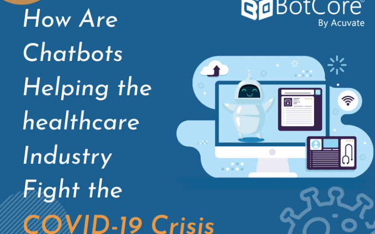 How Are Chatbots Helping The Healthcare Industry Fight The Covid 19 Crisis V1
