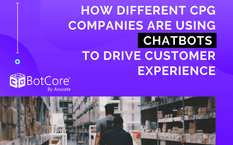 How Different Cpg Companies Are Using Chatbots To Drive Customer Experience V1