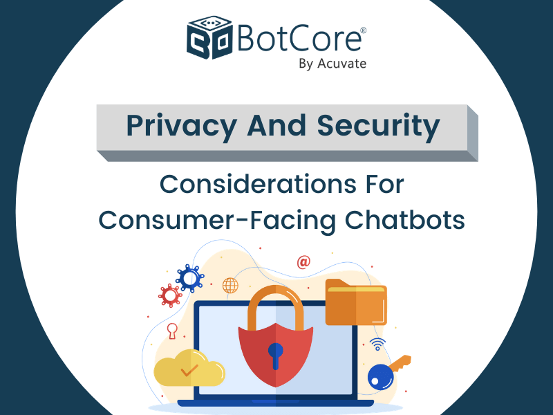 Privacy And Security Considerations For Consumer Facing Chatbots