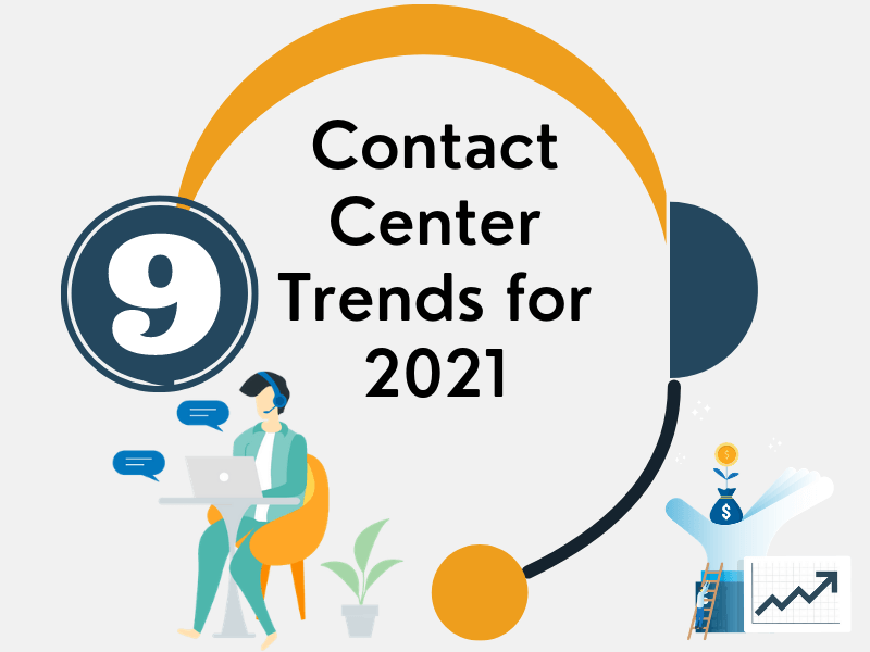 9 Contact Center Trends For 2021