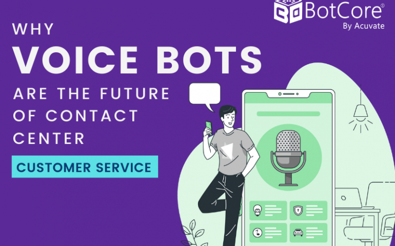 Why Voice Bots Are The Future Of Contact Center Customer Service