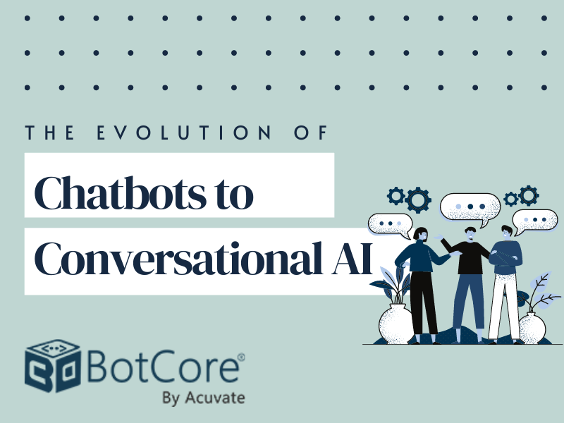 The Evolution Of Chatbots To Conversational Ai