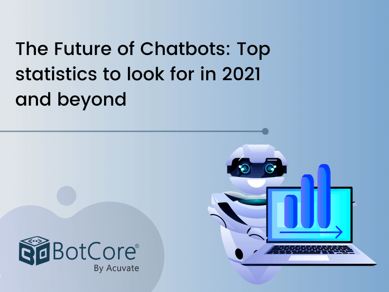 The Future Of Chatbots Top Statistics To Look For In 2021 And Beyond